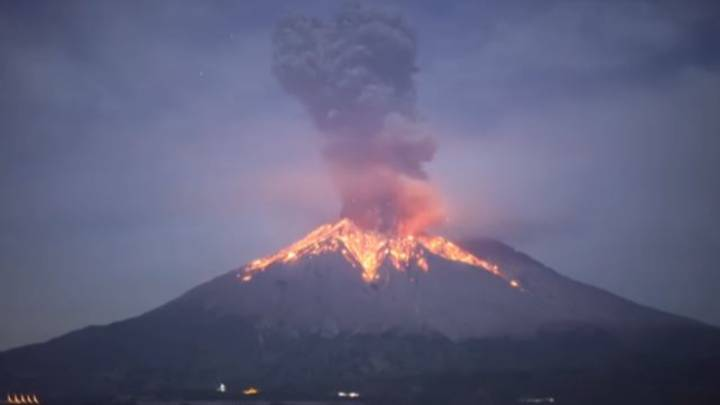 What It's Like Living On Japan's Most Active Volcano