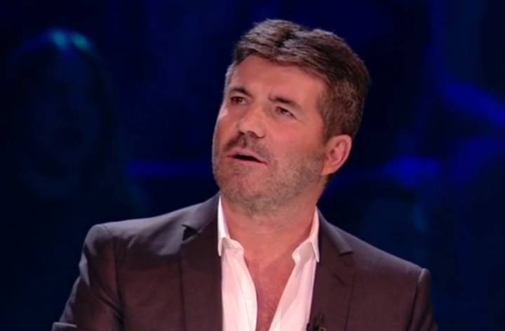 Simon Cowell Snaps At Crew Member Live On 'X Factor'