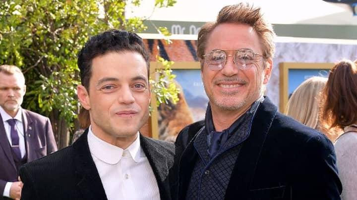 Rami Malek Thought It Was A Joke When Robert Downey Jr. Emailed Him