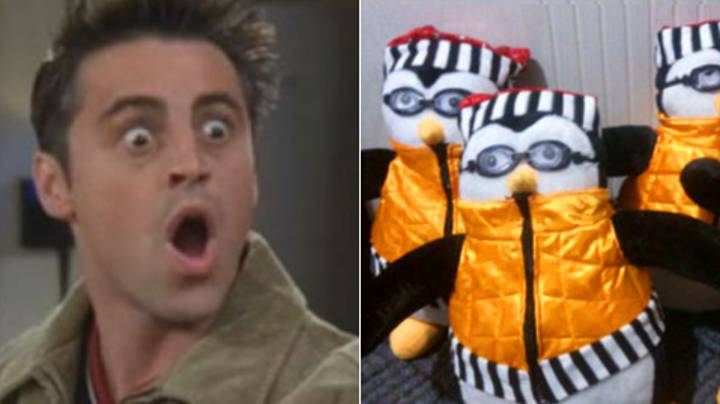 'Friends' Fans Can Now Buy Their Very Own Hugsy The Penguin