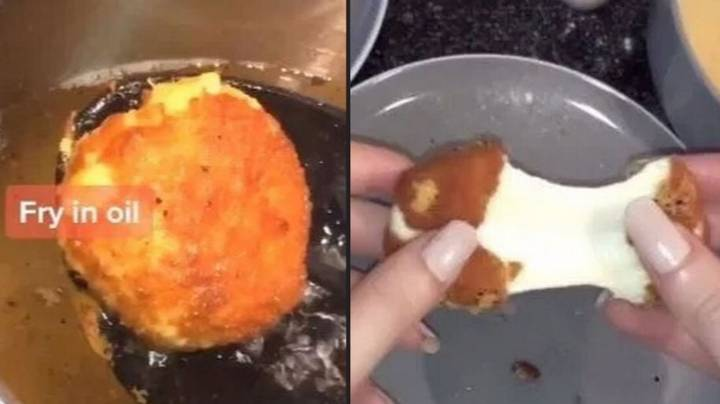 Couple Recreates McDonald's Cheese Melt Dippers Using Babybels