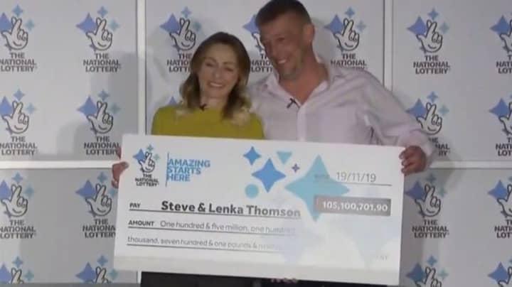 EuroMillions Winner Says He'll Keep Working Despite Landing £105m Jackpot