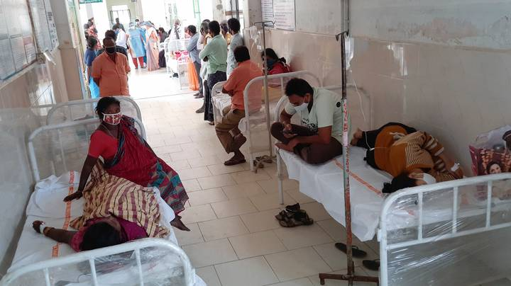 Hundreds Of People Hospitalised In India With Mystery Illness