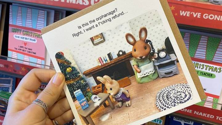 Paperchase Removes Christmas Card That Jokes About Orphans