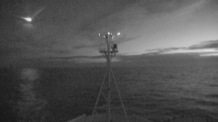 Meteor Caught On Camera Exploding Over Ocean Near Tasmania