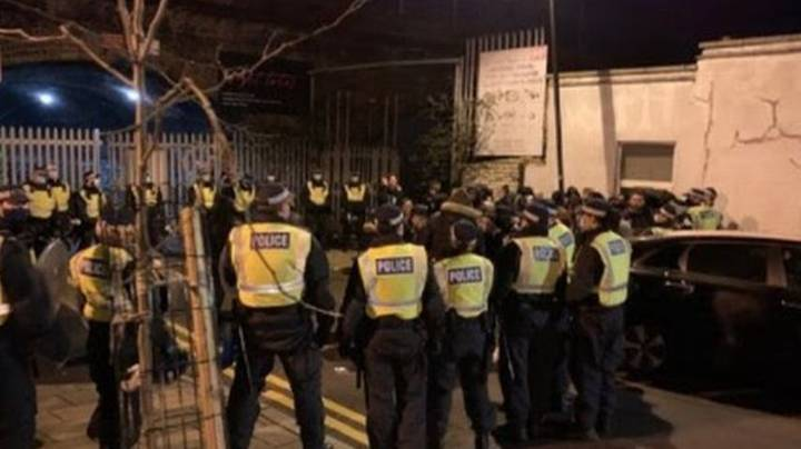 Police Issue £15,000 In Fines After Breaking Up Huge 300-Strong Rave