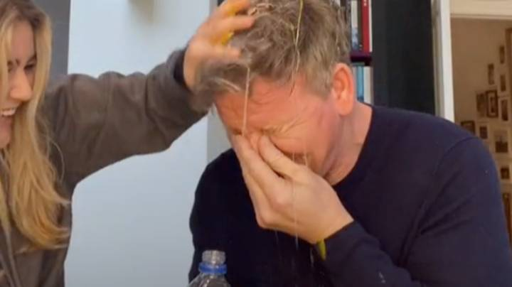 Gordon Ramsay's Daughter Pranks Dad With Raw Egg Trick