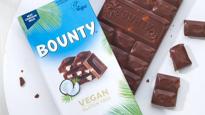 Mars Has Launched Vegan And Gluten Free Bounty Bars