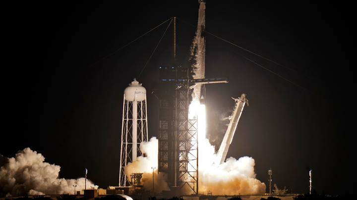 SpaceX Launches Its First All-Civilian Flight Into Earth's Orbit