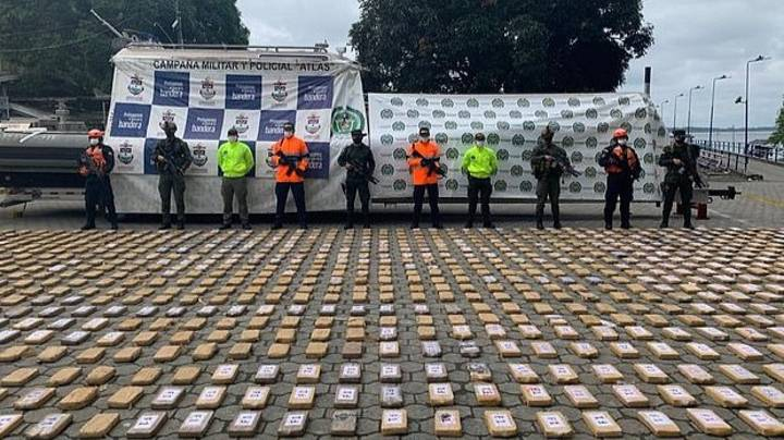 Colombian Authorities Seize Cartel's 'Drug Submarine' Containing £13.5m Of Cocaine