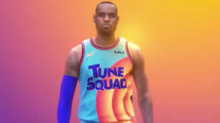 LeBron James Drops Sneak Peak At Basketball Uniforms For Space Jam Sequel