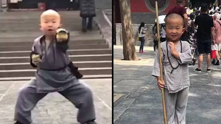 Three-Year-Old Boy Wakes Up At 5am Every Day To Train To Become A Shaolin Master