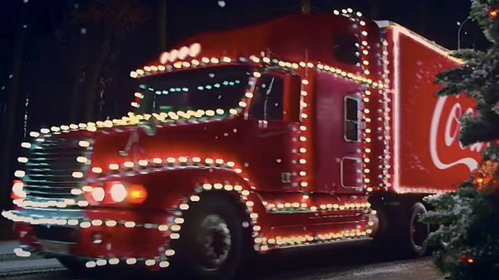 Boy, 5, Leaves Home In The Night To 'Find Coca-Cola Christmas Truck'