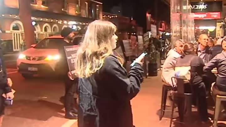 Vegan Protestors Yell At Meat Eating Diners At Perth Restaurant