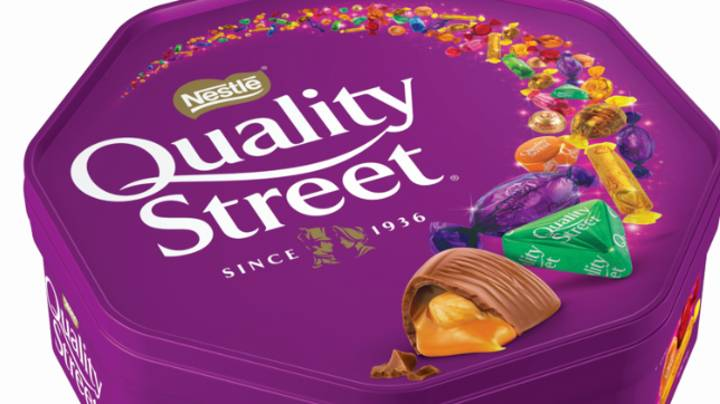 People Are Fuming There's Not Enough Green Triangles In Quality Street