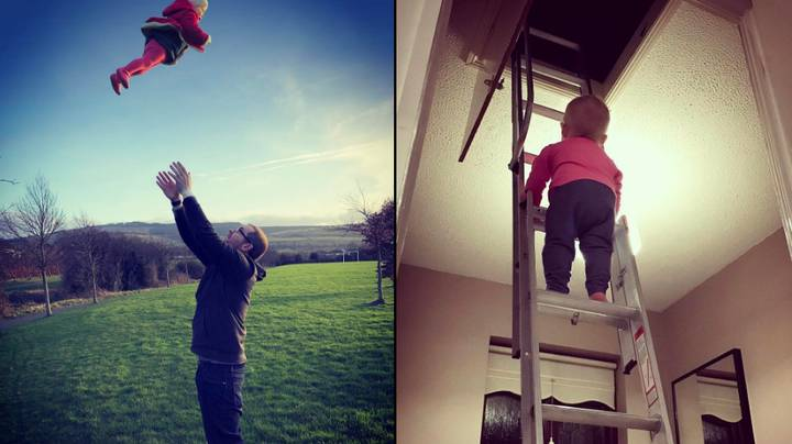 Dad Causes Online Outrage With His 'Dangerous' Pictures Of Daughter