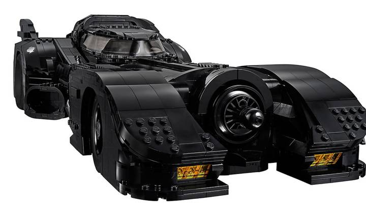 Lego Release 3,306 Piece Set Of Original Batmobile