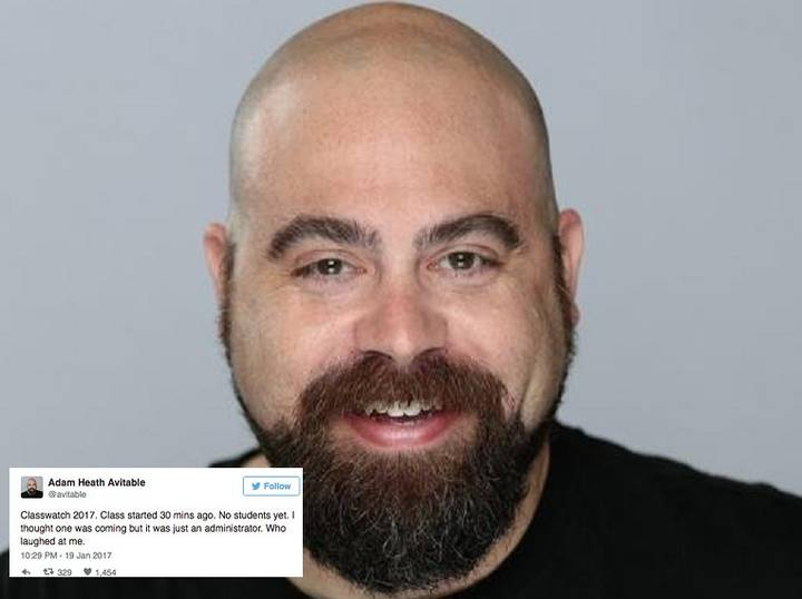 Teacher Live Tweets His Class When No-One Turned Up And It Was Brilliant