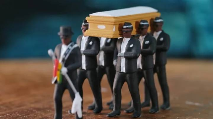 You Can Now Buy Ghana Dancing Pallbearer Figurines