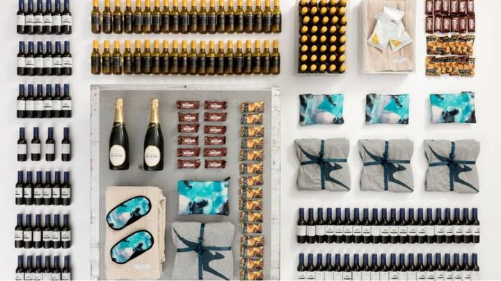 Qantas Is Flogging Fully-Stocked Drinks Carts From The Retired 747 Fleet
