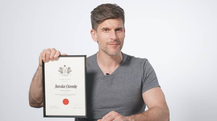 Osher Günsberg Grants The Great Barrier Reef Honorary Australian Citizenship