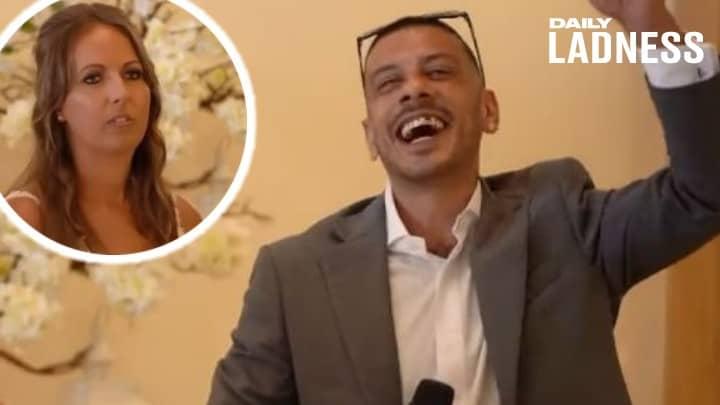 Groom Pranks Bride With Gareth Southgate Wedding Speech