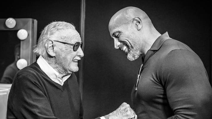 Dwayne Johnson Posts Heartfelt Thank You To Marvel's Stan Lee