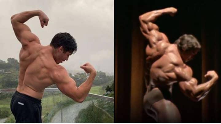 Arnold Schwarzenegger's Son Joseph Baena Is Spitting Image Of Dad In New Photo