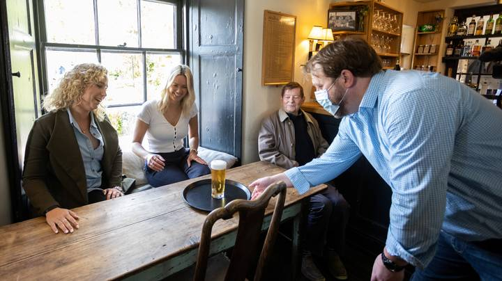 Customers Cough Up £755 For First Post-Lockdown Pint In Pub