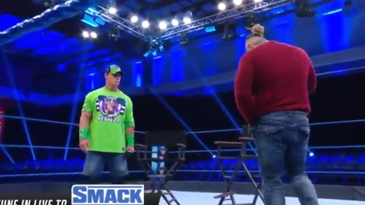 Wrestlers Trash-Talking In Front Of Empty Arena Is Making People Cringe
