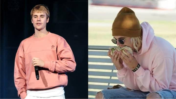 Justin Bieber Lookalike Eating Burrito Sparks Internet Debate
