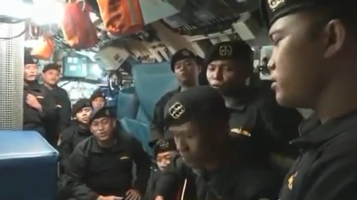 Heart-Wrenching Video Shows Crew Of Doomed Indonesian Submarine Singing