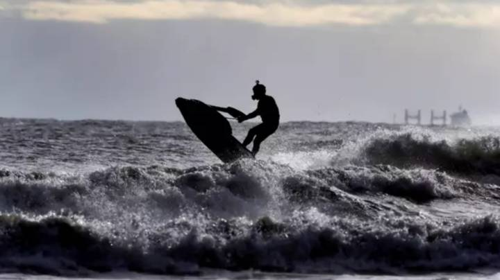 Girlfriend Of Man Jailed For Jet Skiing Across Sea Says He's A 'Legend'