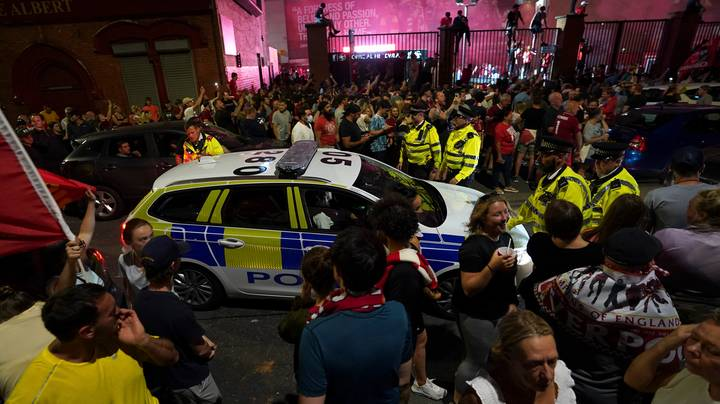 Police Slam Thousands Of Liverpool Fans For Filling Streets Amid Coronavirus Crisis