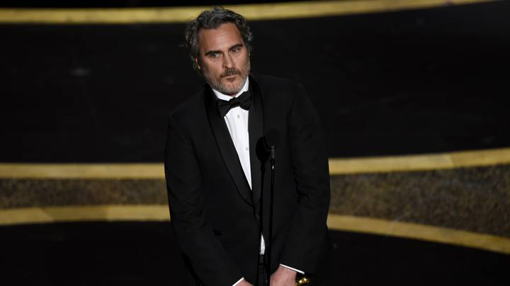 Joaquin Phoenix Pays Tribute To Late Brother River During Oscar Acceptance Speech
