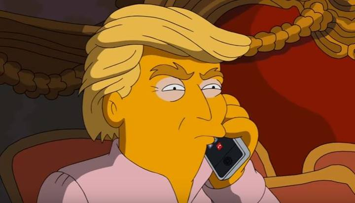 The Simpsons Go In On Donald Trump In The Least Subtle Way Possible