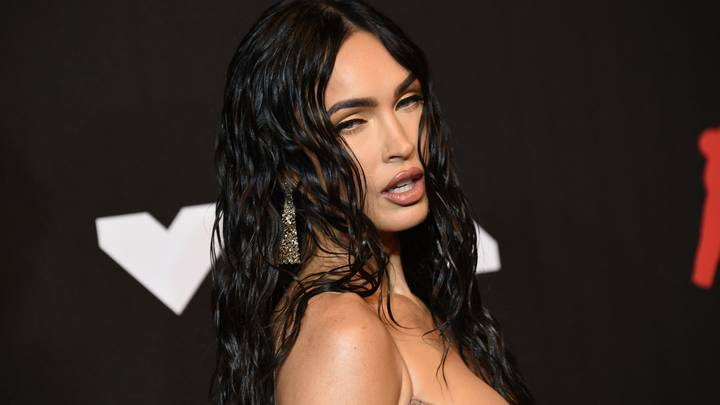 Megan Fox Wore Her 'Naked' VMA Dress Because Machine Gun Kelly Told Her To