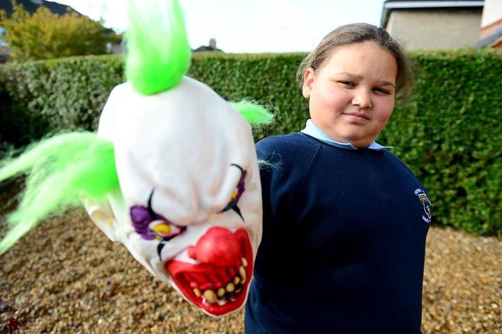 Ten-Year-Old Girl Excluded From School For Wearing 'Killer Clown' Mask