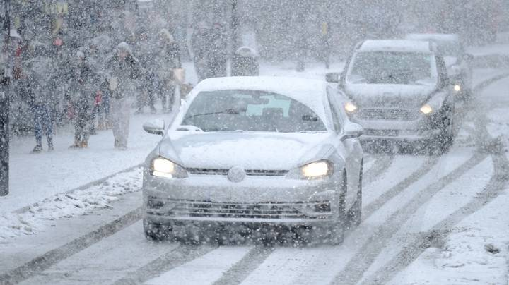 Brits Told Not To Travel As They Brace For 20 Inches Of Snow