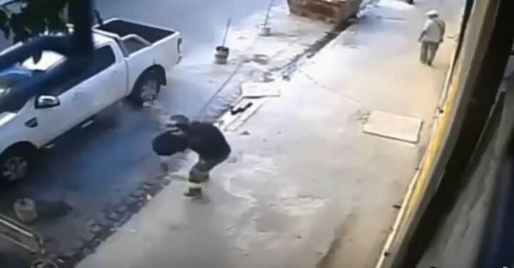 Robber Tries To Rob Man, Man Shoots Robber Three Times