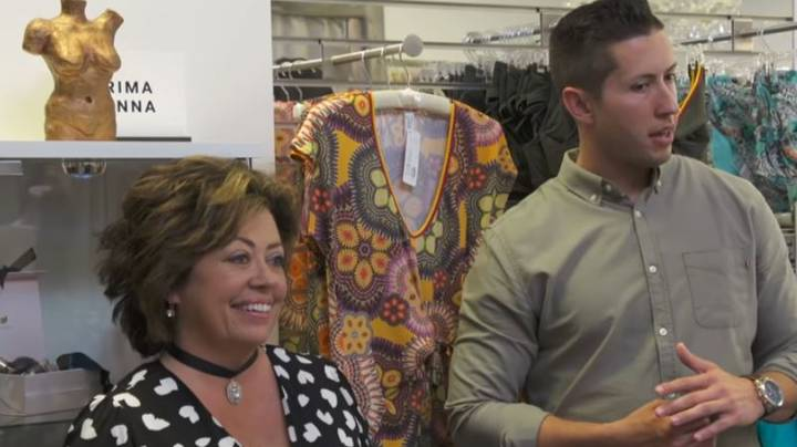 'Mama's Boy' Horrifies Shop Owner By Shopping For Lingerie With Mum