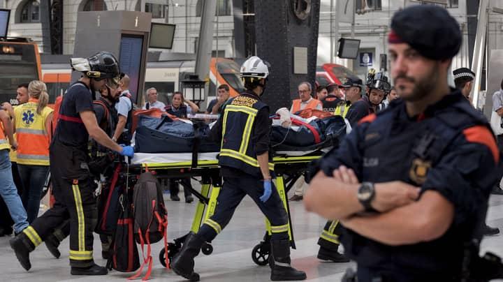 Barcelona Train Crash Leaves 50 Injured