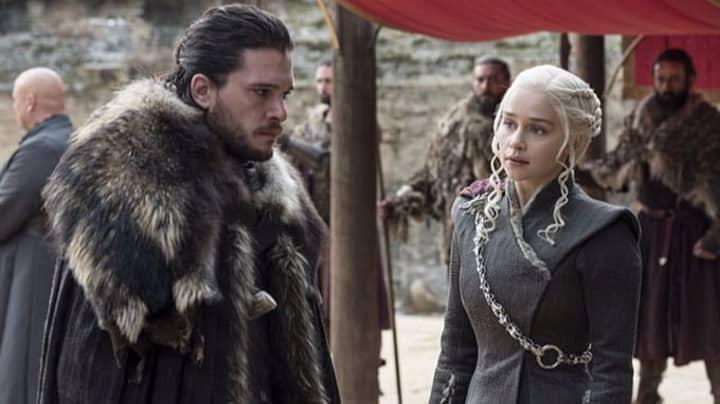 Emilia Clarke's Reacts To That 'Game Of Thrones' Sex Scene