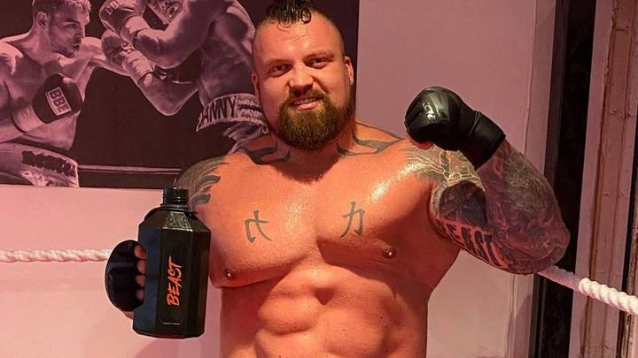 Eddie Hall Sheds Six Stone On 7,000-Calorie-A-Day Diet