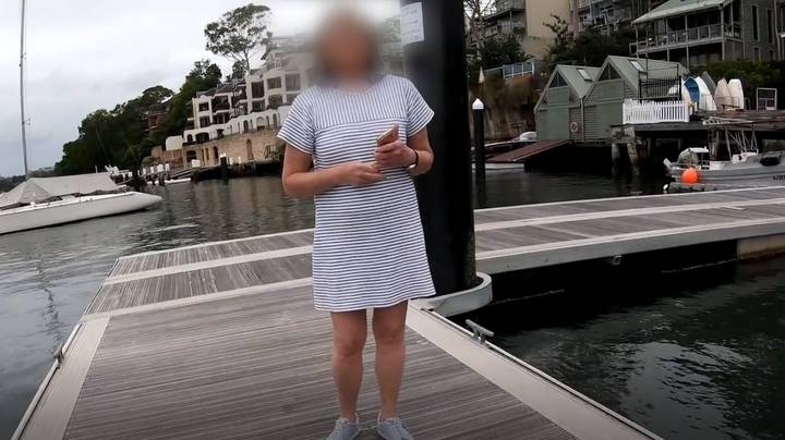 Angry Woman Threatens To Call The Police On Fisherman