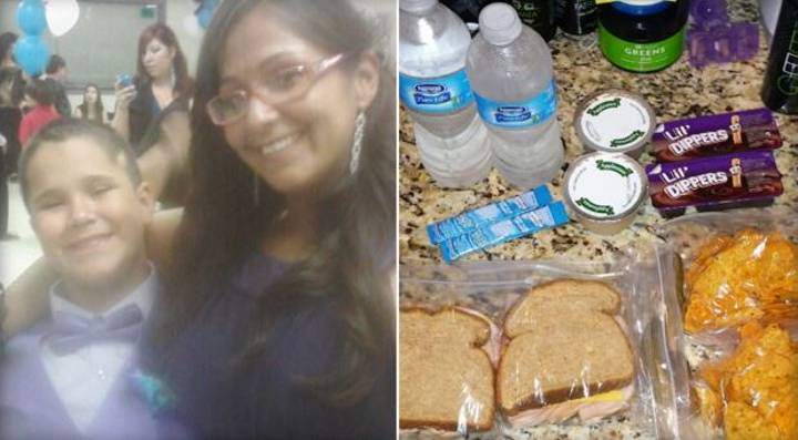 Heartbreaking Reason Little Lad Asked His Mum To Make Two Lunches