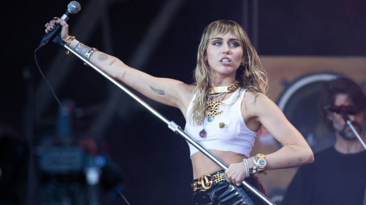 ​Miley Cyrus Reveals Her First Sexual Encounter Was With Two Girls
