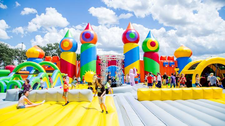 World's Largest Inflatable Theme Park Is Coming To Australia