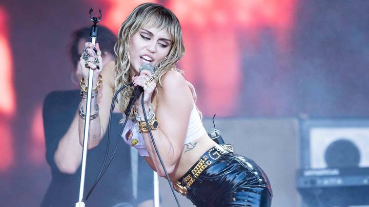 Miley Cyrus Says She's Been Having 'A Lot Of FaceTime Sex' In Lockdown