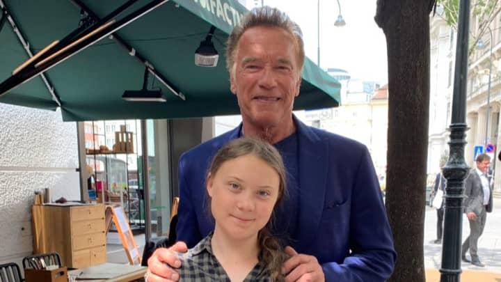Arnold Schwarzenegger Offers To Lend Greta Thunberg His Electric Car